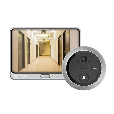 香港行貨 Ezviz 螢石 DP1C 全無線智能貓眼攝像頭+門鈴