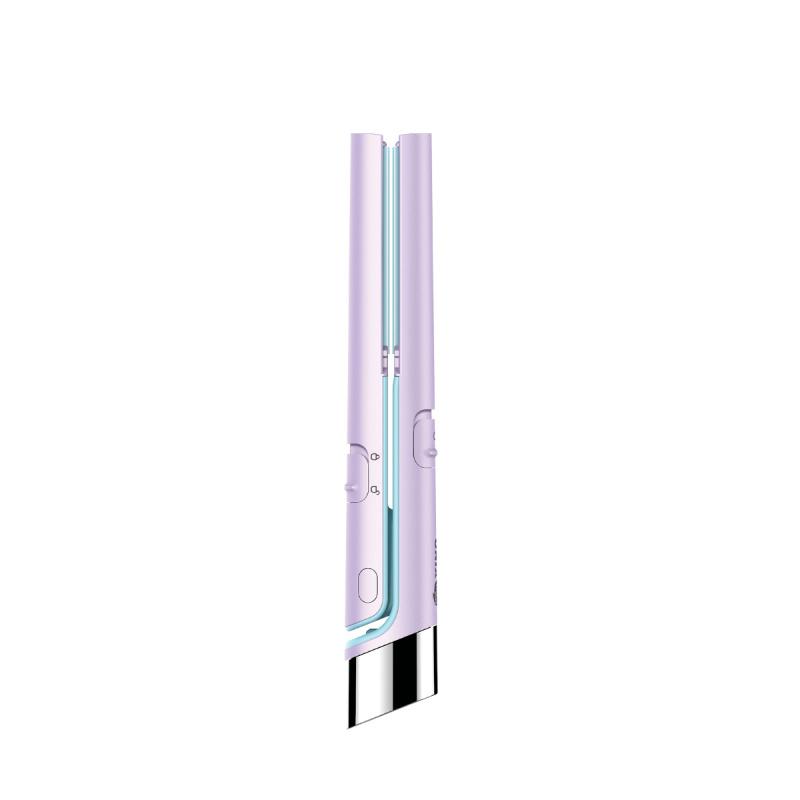UNIX USB插電迷你直髮器 - 紫色(送USB線)