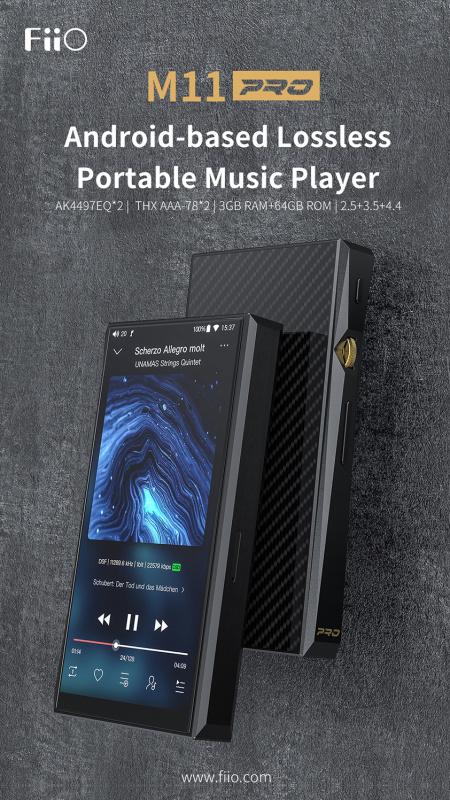 《香港行貨》FiiO - M11 Pro 便攜音樂播放器