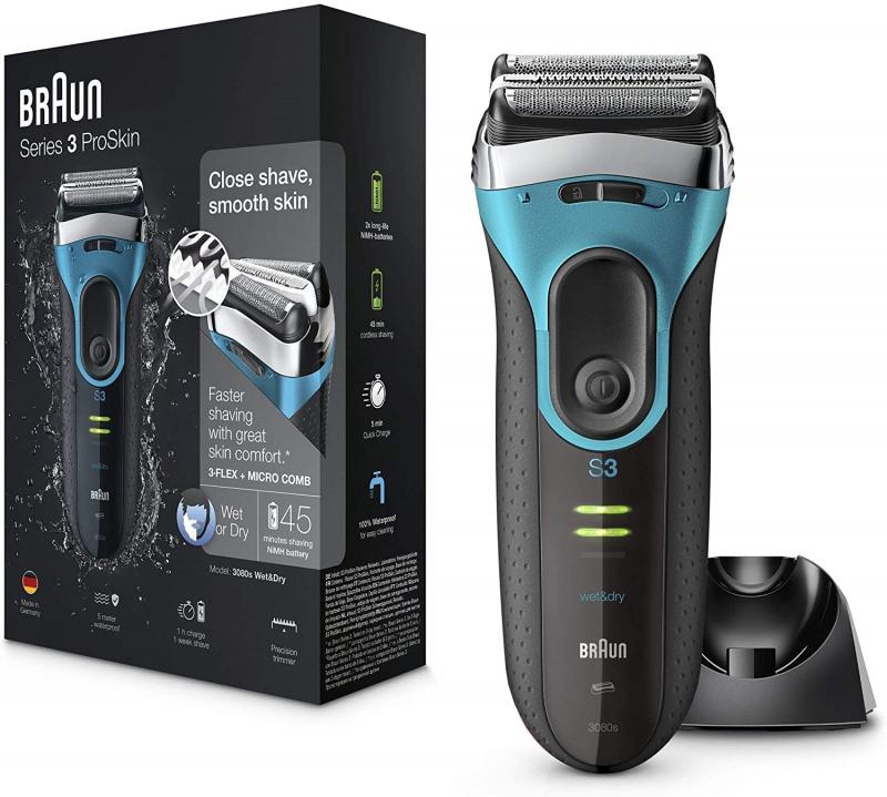 Braun 百靈 - Series 3 ProSkin 親膚系列3080s 男士電鬚刨