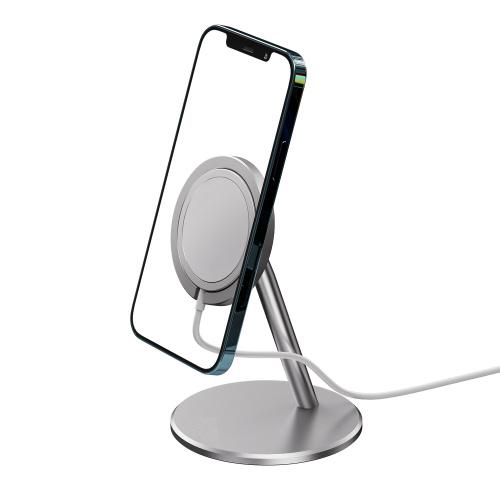 ALOK 鋁合金 iPhone Magsafe 充電器手機支架