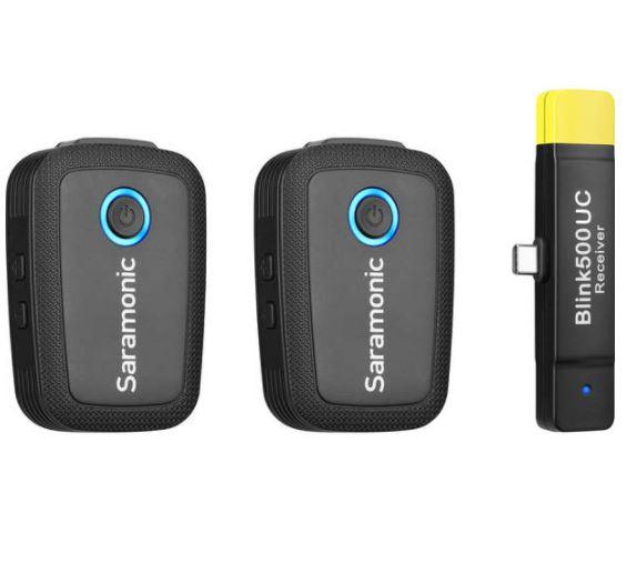 Saramonic Blink500 B6 2.4Ghz 一對二無線手機領夾咪 For USB Type-C