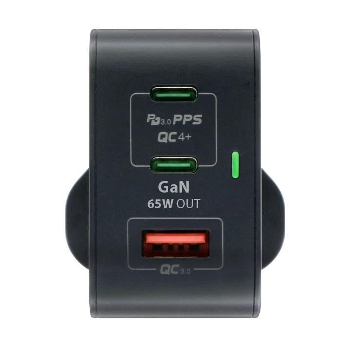 Maxpower 牛魔王 GN65X 65W 3 位 GaN USB 充電器