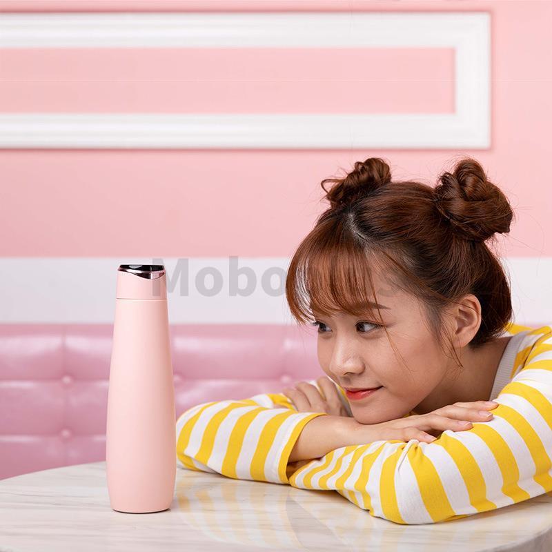 [免充電] Eyin智能顯溫304不鏽鋼保冷保溫杯 350ml【3色】