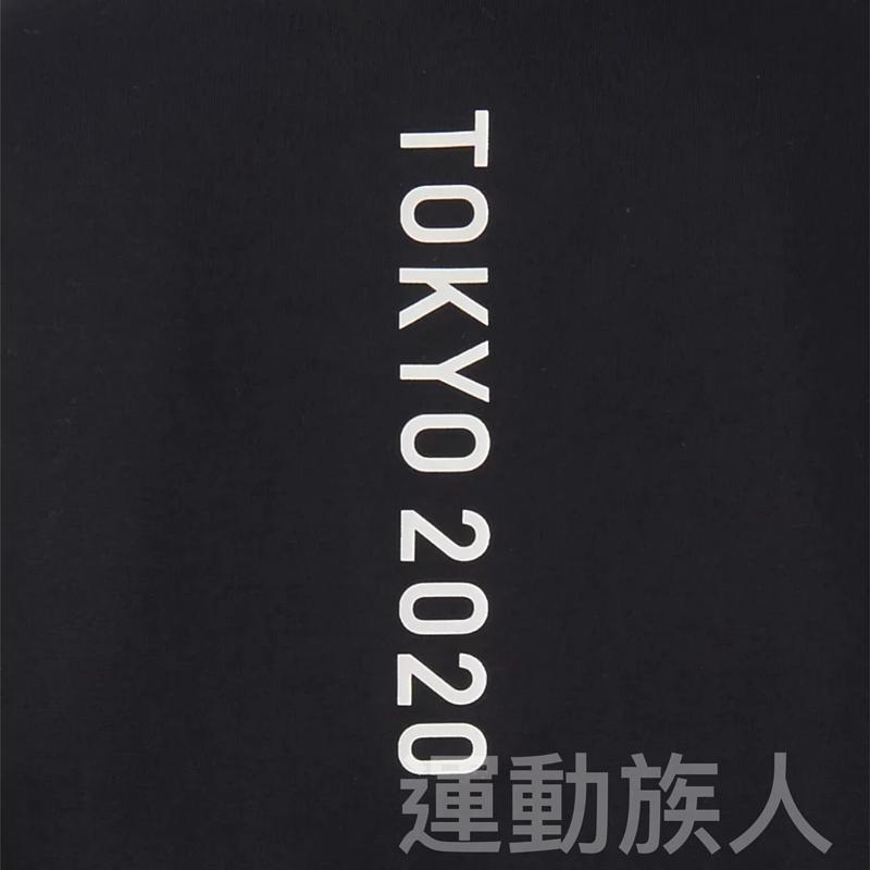 【💥Tokyo 2020 日本奧運】Asics 成人奧運 會徽 黑色 TEE 多碼 日本直送