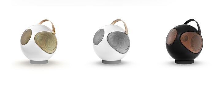 UB+ Eupho Alphorn S2 質感球型藍牙立體聲音箱 [白金色] [2個可以無線連接,左右聲道]