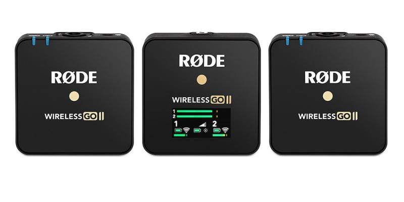 [預購] RODE Wireless Go II 2.4GHz 一拖二無線收音咪