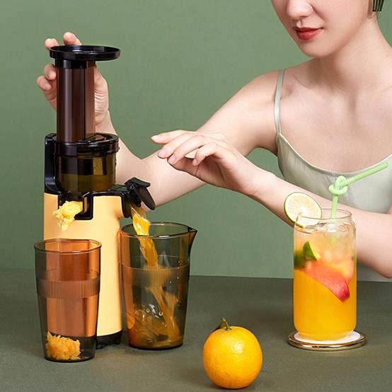 【Mokkom】冷壓慢磨原汁機 家用迷你榨汁機 MK-SJ001