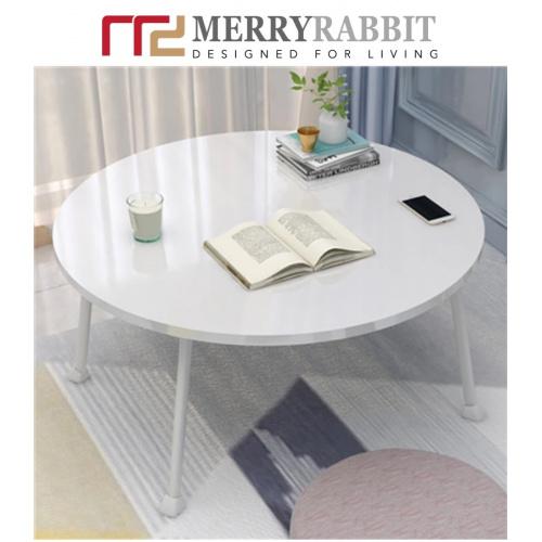 MerryRabbit - 多功能床上可摺疊電腦桌茶機MR-A188-01 [白色]