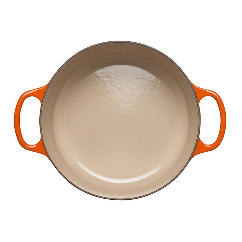 Le Creuset 圓形鑄鐵鍋 20cm 橙色