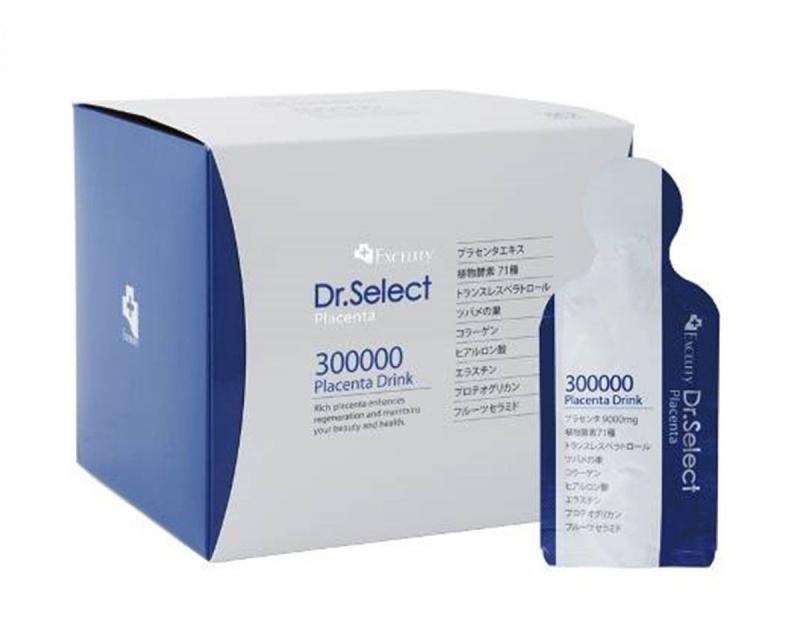 Dr.Select 高濃度胎盤素燕窩酵素原液 300000mg (30包裝)