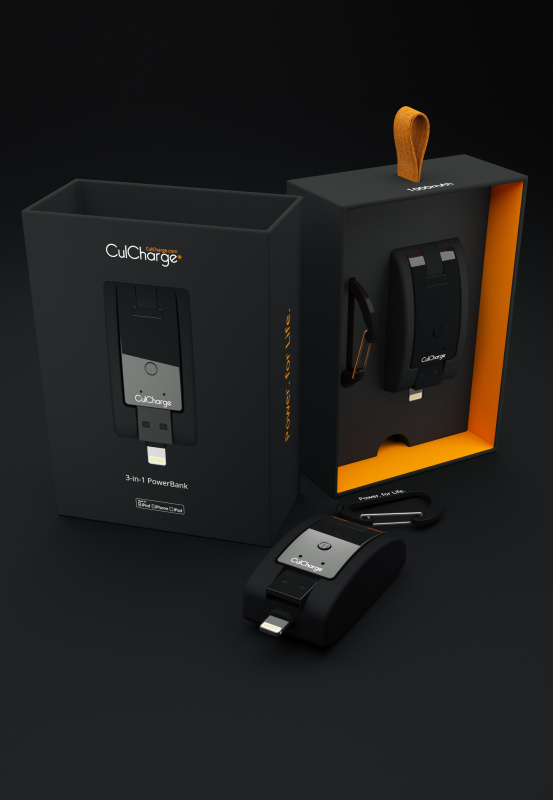 Culcharge 3-in-1 Powerbank (Android MicroUSB Version)