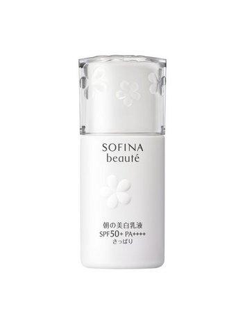 Sofina Beauté 美白高保濕活膚防曬乳液 SPF50+ PA++++〈清爽型〉30ml