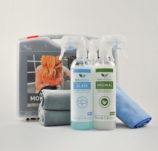 Ecowaterless Natural Car Cleaning Kit 天然汽車免水打蠟清潔套裝