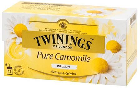 TWININGS 甘菊花草茶25片裝 2盒