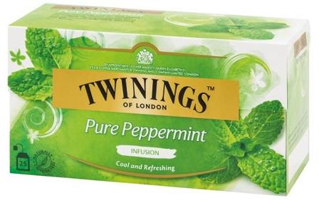 TWININGS 薄荷花草茶25片裝 2盒