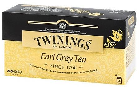 TWININGS 豪門伯爵紅茶25片裝 4盒
