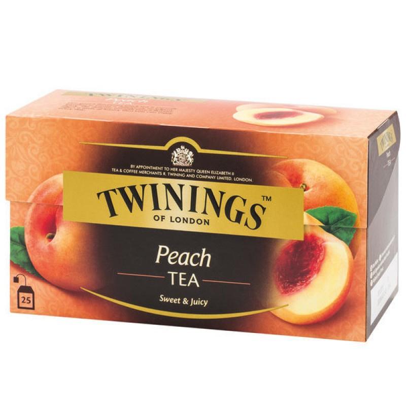 TWININGS 香桃果香紅茶 25片裝 2盒