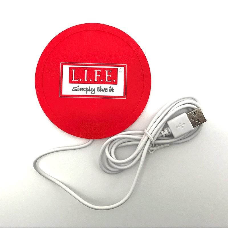 L.I.F.E. USB Warmer Coaster 發熱保溫杯垫