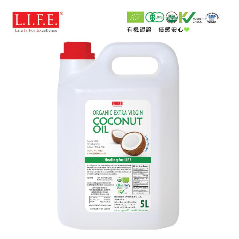 餐飲有機椰子油 5 公升