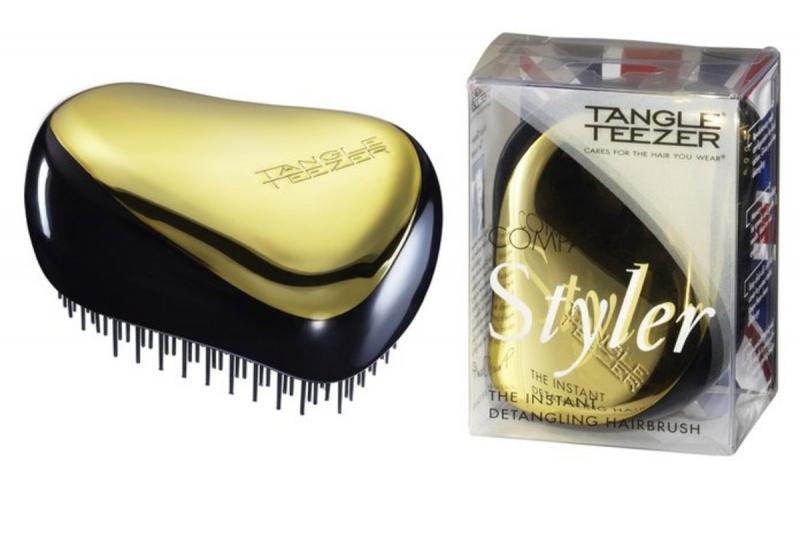 Tangle Teezer 英國專業美髮梳 (Compact Styler) 金色