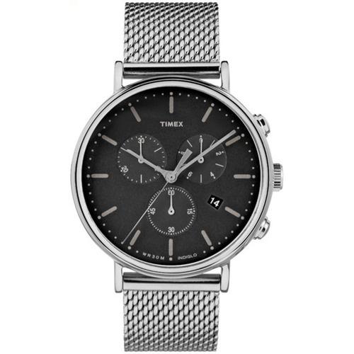 Timex TW2R619 Fairfield Chronograph 41mm 男裝鋼帶手錶