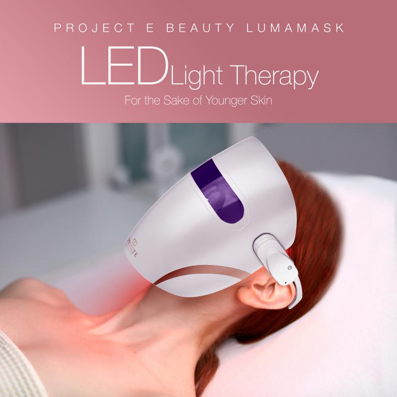 Project E Beauty Lumamask | 家用無線超輕型7色光療去痘印嫩膚美白淡斑彩光面罩