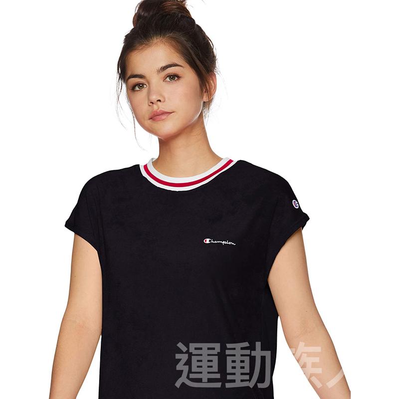 【💥日本直送】Champion 法式袖連衣裙 女士 基本款 黑色 M/L可選