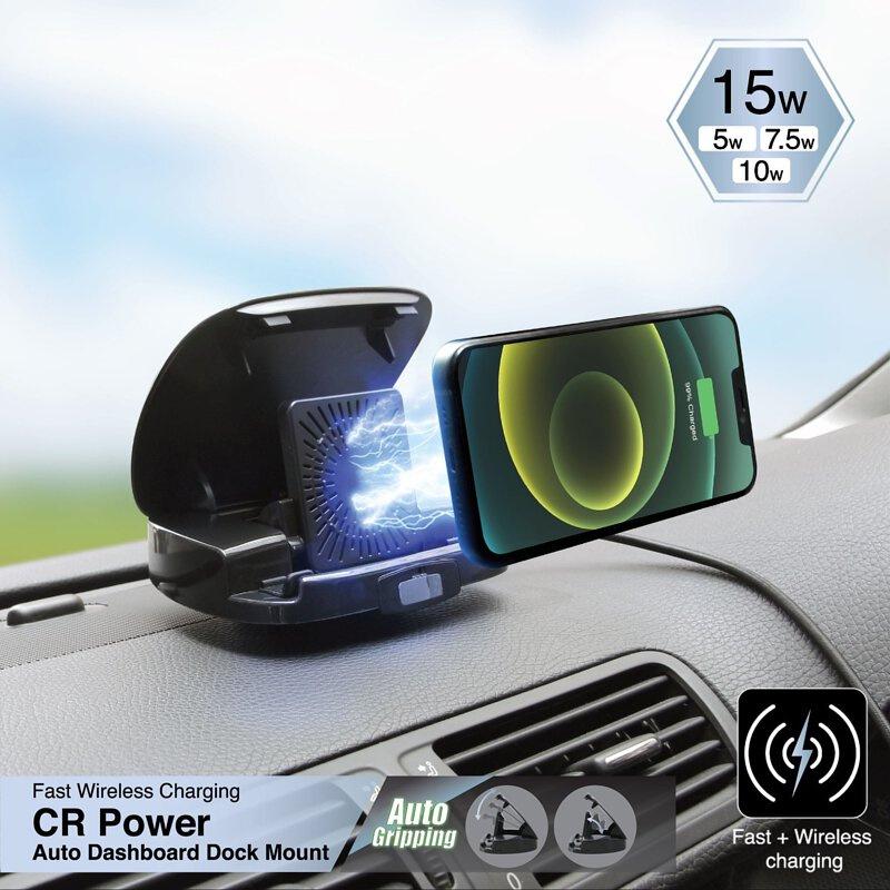 Capdase CR Power IR15無線充電自動儀表板基座| HR00-D201