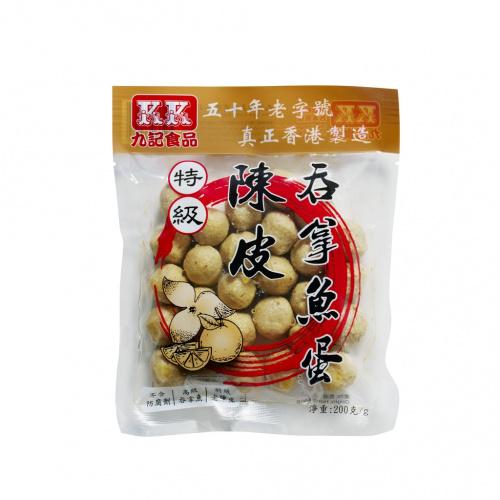 特級陳皮吞拿魚蛋 (200克)