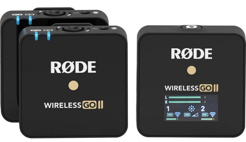 RODE Wireless GO ll 一對二無線麥克風