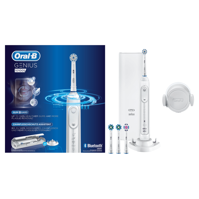 Oral-B GENIUS 10100s 智能電動牙刷 (另送4支刷頭共6支) 🇩🇪Made in Germany🇩🇪
