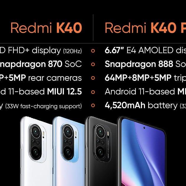 2021年4月份最新5G雙卡NFC型號~小米11. K40. K40pro 5G⚡️