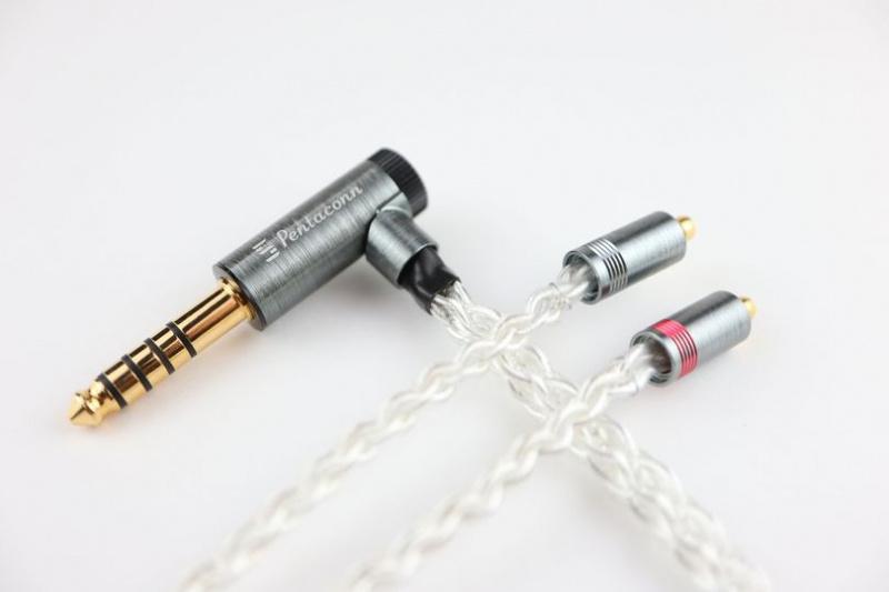 【激減優惠倒數2條】Pentaconn Ear 純銀升級線