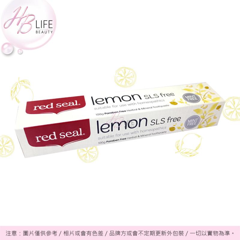 Red Seal 天然草本及礦物檸檬味牙膏 (100克)