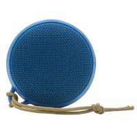 【陳列品】SOUND CRUSH MACARON 便攜式防水藍牙喇叭 藍色