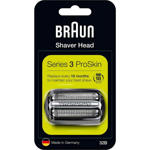 Braun 百靈 32B/32S/52B/52S/53B/70B/70S/92B/92S 替換刀片
