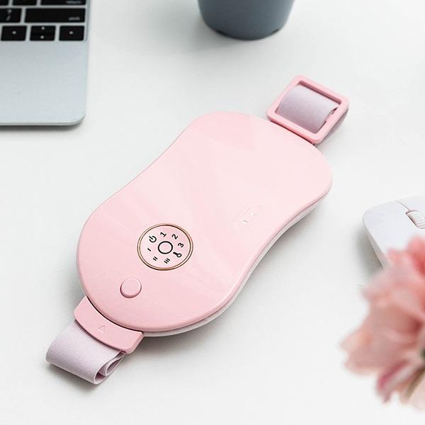 日本JTSK 智能電熱按摩暖宮腰帶 無線暖宮腰帶充電款姨媽神器