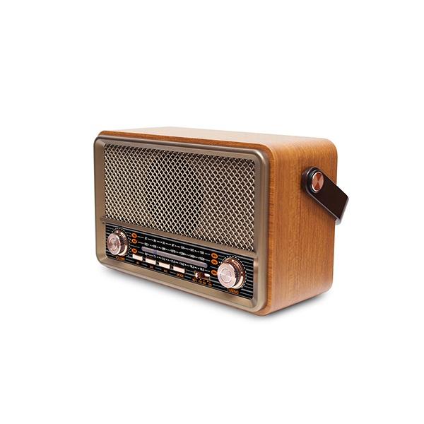 日本JTSK 多功能BT懷舊經典復古式FM/AM收音機