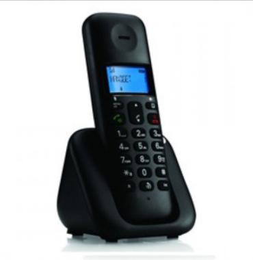 Motorola摩托羅拉-T301(單機式)室内無線電話