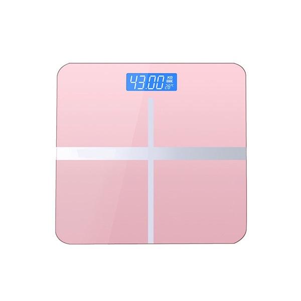 日本JTSK 新款智能健康充電式體重電子磅 家用精準體重秤電子稱