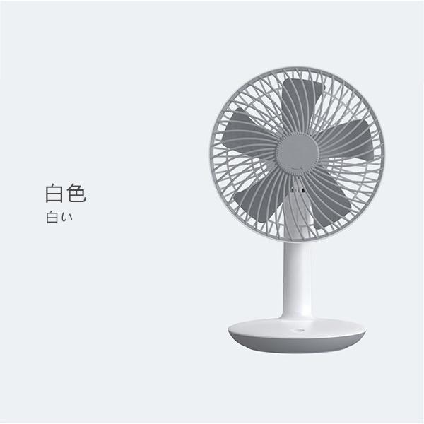 日本JTSK 家用靜音USB充電式超強續航台式電風扇