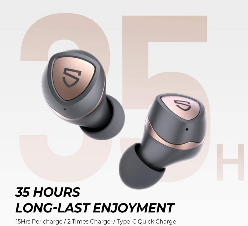 Soundpeats True Wireless Earbuds - Sonic
