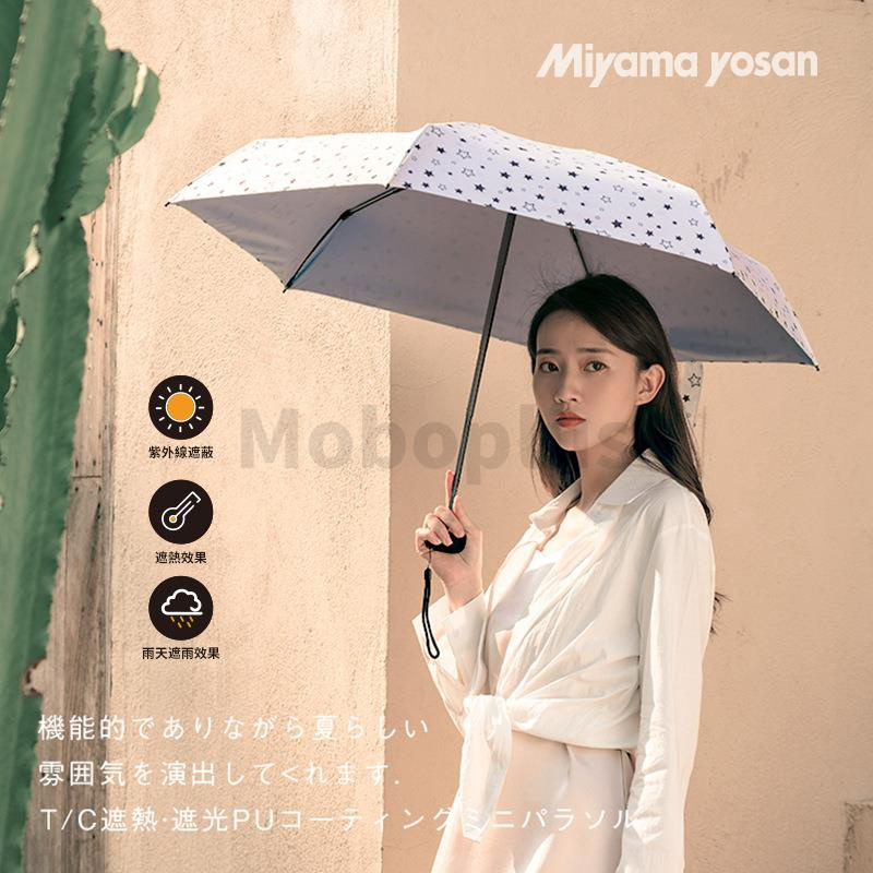 日本 Miyama Yosan 防紫外線膠囊雨傘
