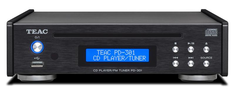 Teac AI-301DA-X 立體聲合併擴音機 + Teac PD-301-X CD播放器/FM調諧器 + BLUE AURA PS40 喇叭音響