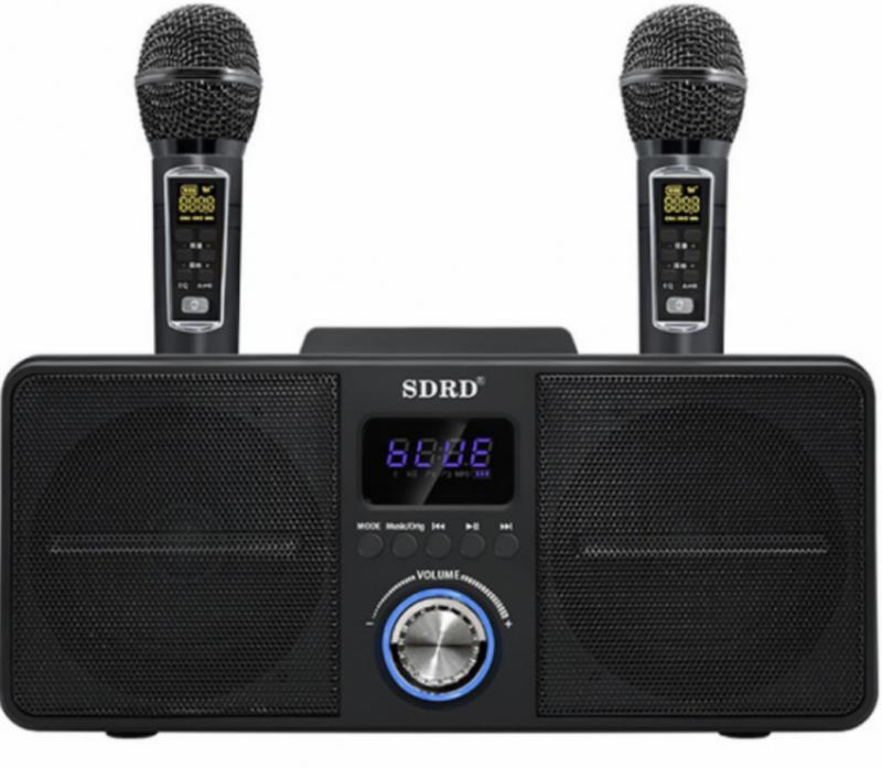 SDRD SD-309 無線K歌神器 雙人對唱音響組合(2色)