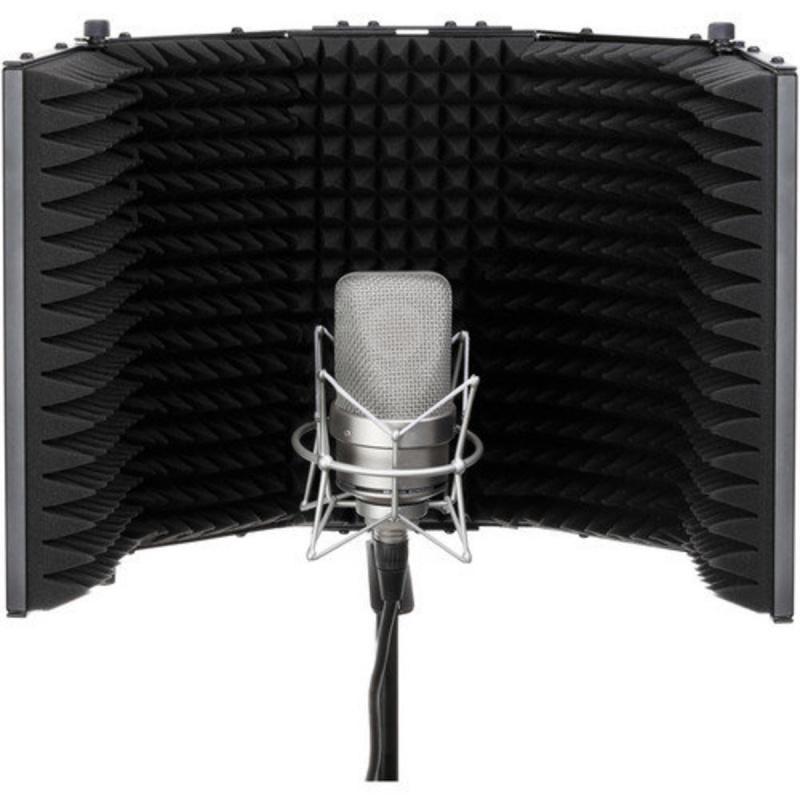 Microphone Mic 五門摺疊麥克風隔音屏