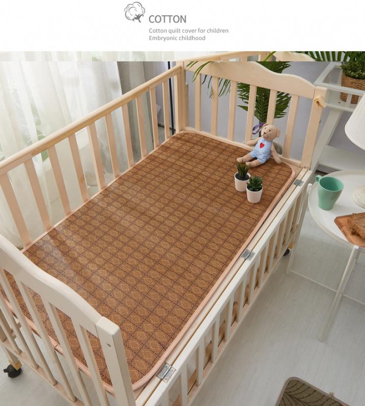 天然兒童午睡涼藤蓆 120*60CM