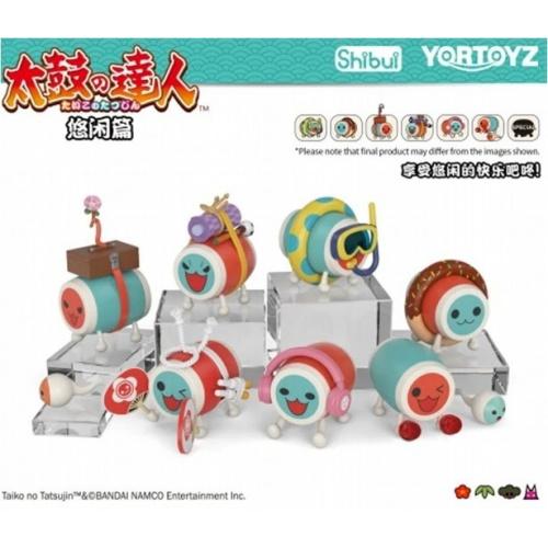 Yortoyz 太鼓之達人盲盒玩具 悠閒篇 盒蛋 (Box of 6)