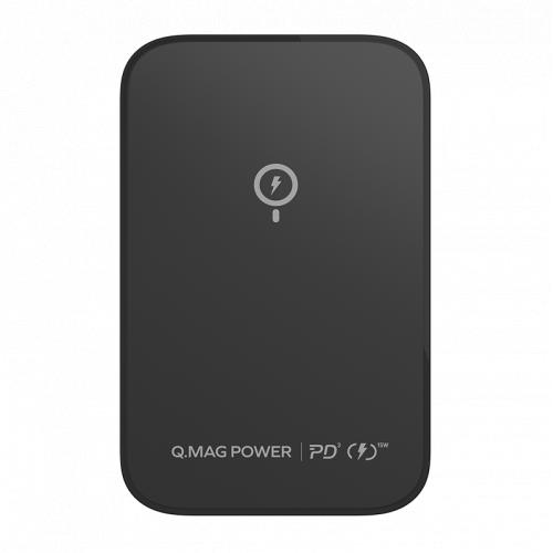 Momax Q.Mag Power 磁吸無線充流動電源 5000mAh [2色] IP97 (送Type C to Lightning 快充線)